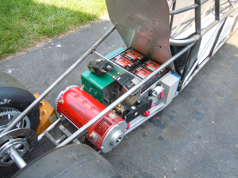 Electric Jr Dragster With A Bit Of History Diy Electric